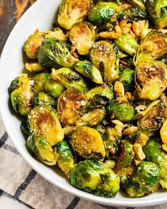 Creamy Garlic Parmesan Brussels Sprouts With Bacon Cafe . Creamy Garlic Parmesan Brussels Sprouts With Bacon Cafe . Roasted Brussels Sprouts With Parmesan Sauce The Cozy Apron. Best Brussel Sprout Recipe, Baked Brussel Sprouts, Cooking Brussel Sprouts, Roasted Sprouts, Roasted Vegetables, Brussels Sprouts, Keto Side Dishes, Vegetable Side Dishes, Side Dish Recipes