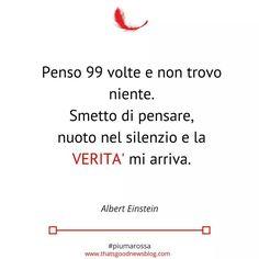 Albert Einstein #citazioni #piumarossa #felicità