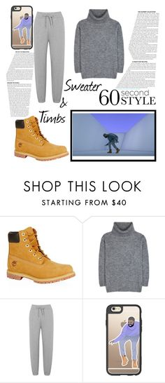 """hotline bling"" by mirela-mihaela ❤ liked on Polyvore featuring Timberland, Yves Saint Laurent, T By Alexander Wang, Drakes London, Casetify, DRAKE, views and 60secondstyle"
