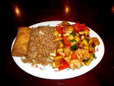 Kung Pao Chicken from Asian Palace in Memphis, TN.