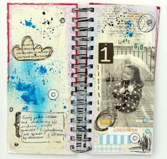 love the sizing here and the details and artsy feeling throughout. rainy minialbum [01] | Flickr - Photo Sharing!