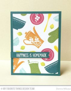 November 2016 card kit from My Favorite Things  -  Kitschy Kitchen