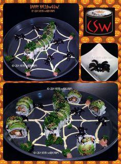 HAPPY HALLOWEEN by Crea Sushi Workshops! https://www.facebook.com/crea.sushiworkshops