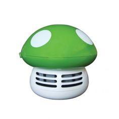 Un champignon aspirateur pour votre bureau. Fini les miettes !