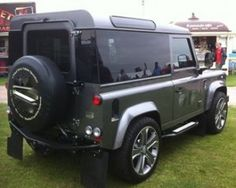 LANDYGLASS. Land Rover Defender 90/110 rear privacy glass conversions giving the defender a modern look with added security and a clean edge finish.