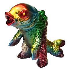Koijarus Kaiju Fish V2 Mark Nagata painted