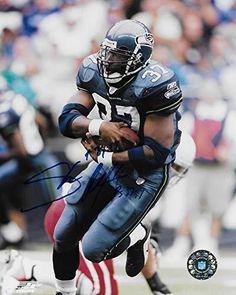 Shaun Alexander Seattle Seahawks signed autographed 8X10 photo 52084de2b