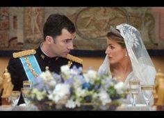Princess Letizia's Fairy Tale Wedding: A Look Back (PHOTOS)
