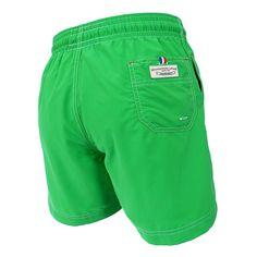 dee62e4fa710 Jules - Maillot short de bain homme vert uni - Les Loulous de la plage