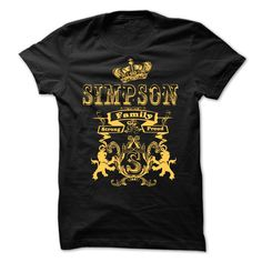 SIMPSON  Family Strong Proud