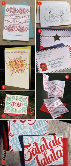 A Letterpress Christmas 2011