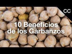 10 Beneficios de los Garbanzos   Ciencia de la Comida - YouTube Recipe Sites, Healthy Eating, Make It Yourself, Tamarindo, Youtube, Food, Plate, Food Cakes, Legumes