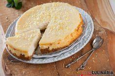 Cheesecake de limão no forno, são servidos ?