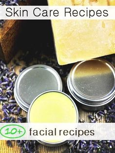 Homemade skin care recipes: makeup remover, pimple zappers, toners, facial masks, scrubs and exfoliators , skin cleansers, skin creams, skin scrubs