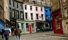 The Red Door Gallery Edinburgh Travel, Edinburgh Scotland, Scotland Travel, Scotland Trip, Travel Europe, Antique Shops, Vintage Shops, Magic House, Florida Style