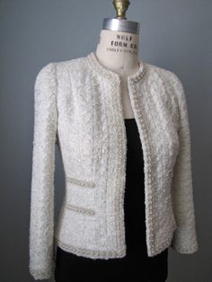 Notes on Chanel Jacket Construction J.Kaori Sews: Classic French Jacket: Finished