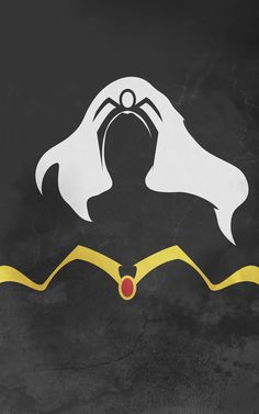 Superhero Minimalist Posters - The Goddess by ~thelincdesign on deviantART