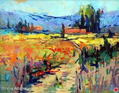 Inspired Landscape by Trisha Adams Oil ~ 24 x 30