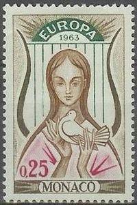 Monaco - Europa / CEPT 1963