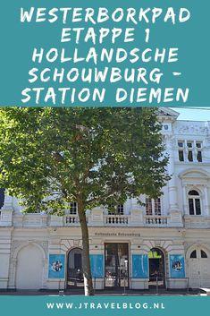 Een verslag van etappe 1 van de lange-afstandswandeling Westerborkpad. Deze eerste etappe loopt van de Hollandsche Schouwburg in Amsterdam naar Station Diemen. Mijn belevenissen en mijn route lees je in deze blog. Loop je mee? #amsterdam #diemen #westerborkpad #etappe1 #geschiedenis #tweedewereldoorlog #wandelen #hiken #jtravel #jtravelblog