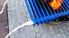 """Pool"" Heizung mit Feuer"