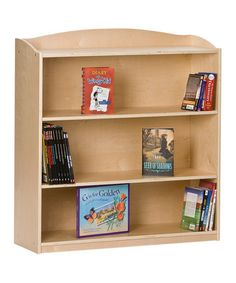 Another great find on #zulily! Four-Shelf Bookshelf #zulilyfinds