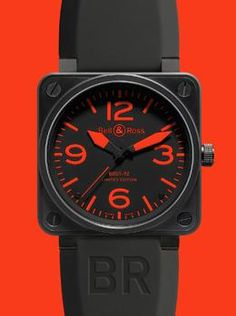 Bell & Ross BR01-92 Instrument Red Watch, available at London Jewelers!