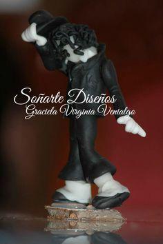 Souvenir de cumple para fans de Michael Jackson.