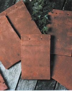 Goxhill Tile Dark Red Handmade Clay Roof Tiles Clay