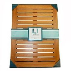Lee by Li Teak Wood Shower Bath Mat 18 x 24 *** Continue to the product at the image link.