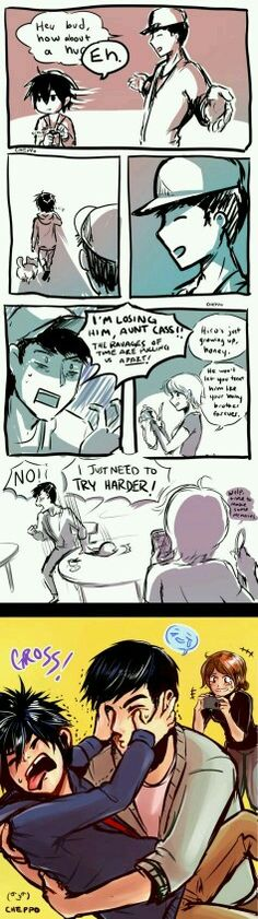 Hamada Moments. I could see this happening