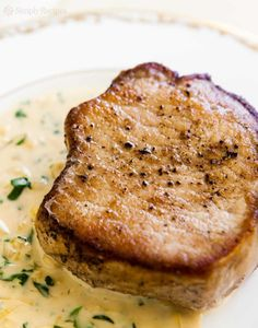 Simple, delicious Pork Chops in 15 minutes! #porkchops