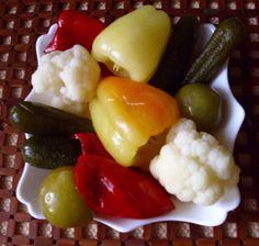 Tursija (pickled vegetables)  http://www.belgradian.com/bon-appetit/main-dishes/