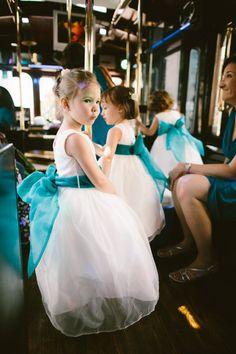Possibly one of the cutest #flowergirl photos I've ever taken - #BostonWeddings #WeddingPhotography #BostonWeddingPhotography #PostOfficeSquare #BostonGardens