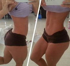 Squat Ass - Toned Abs - Sexy Motivation... Fit legs have got to be the sexiest part of a women...the booty just happens to develop automatically