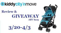 MOMMYS CRAFT OBSESSION AND THRIFTY NIFTY MOMMY are giving away a Kiddy USA City N Move Stroller for Day 20 of Strolling into Spring! Giveaway 3/20-4/3