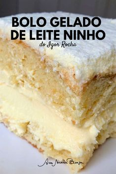 No Bake Desserts, Healthy Desserts, Portuguese Recipes, Yummy Cookies, Food Truck, Cake Recipes, Sweet Tooth, Bakery, Good Food