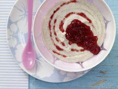Pflaumen-Grießbrei - Abendmilchbrei ab 8. Monat