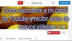 Recetas Caseras Fáciles MG: Youtube. Como suscribirte a mi canal de Youtube y ... Canal E, Videos, Beef, Food, New Recipes, Easy Recipes, Apple Muffins, Homemade Recipe, Health Tips
