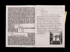 "designeverywhere: "" Riso printed newspaper Publication """