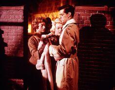Myrna Loy, Doris Day and John Gavin in MIDNIGHT LACE (1960)