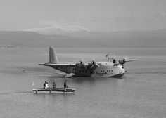 G-AETY Short S.23 Empire Flying boat Imperial Airways, Sea of Galilee, 1939