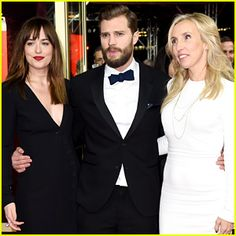 Berlin premiere Fifty Shades of Grey #DakotaJohnson #JamieDornan #SamTaylorJohnson http://www.justjared.com/2015/02/11/jamie-dornan-dakota-johnson-bring-fifty-shades-of-grey-to-berlin/ http://www.letsgetweddy.com