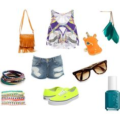 perfect for a music festival!, created by clee336.polyvore.com