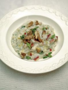 Apple & walnut risotto with gorgonzola | Jamie Oliver | Food | Jamie Oliver (UK)