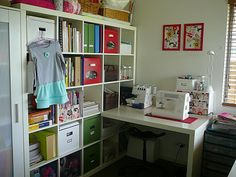 Craft Room Organizing Ideas   ... new favourite blog is Crafty Storage which has tonnes of great ideas