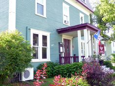 Le Pleasant Hotel & Cafe, Sutton, Eastern Townships, Quebec, Canada