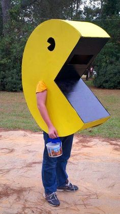 This inSane House: DIY Pac-Man Costume For Under $15! …