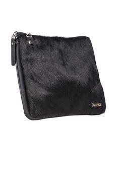Convict Grace Soft Satchel #Shopafar #Convict #hide #leather #fur #luxury #fashion #accessories #bag #clutch