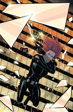 Infinity Countdown: Black Widow pencil by Nik Virella & Brent Schoonover ink by Nik Virella & Brent Schoonover color by Cris Peter Hq Marvel, Marvel Comics Art, Archie Comics, Marvel Heroes, Spiderman Marvel, Iron Man Comic Books, Comic Books Art, Comic Art, Joker Comic